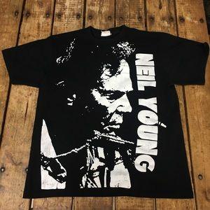 Other - Vintage Neil Young Tee/ L